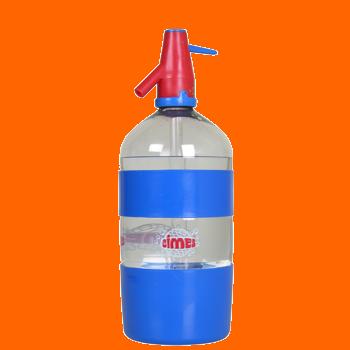 Soda Cimes en sifon retornable de 1,5 lts.